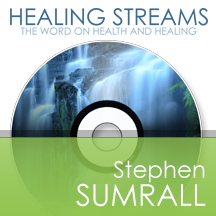 Healing streams Stephen Sumrall cd cover