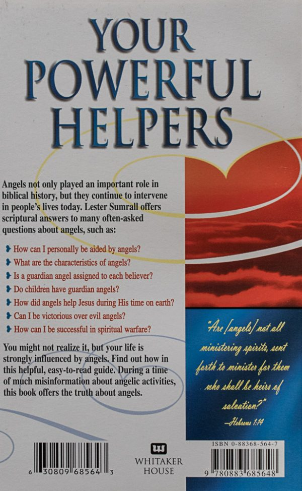 Your Powerful Helpers back of book cover